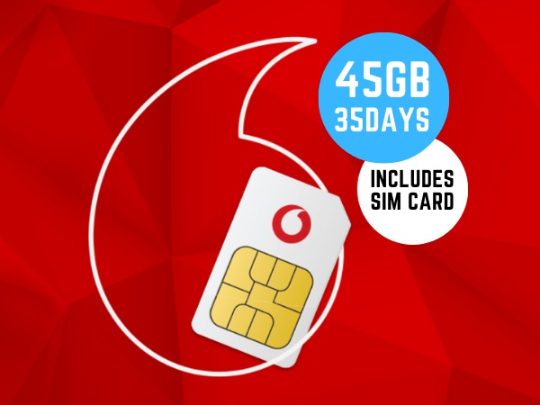 Vodafone 1 month Combo Plus Prepaid Prepaid Starter Pack