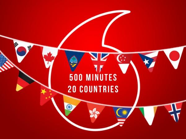 Vodafone 3 month Combo Plus Prepaid Prepaid Starter Pack