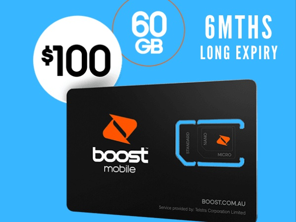 Boost 6 month Prepaid Starter Pack